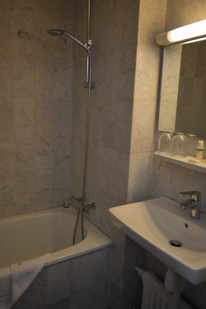 コペンハーゲンのAstoriahotelのバスルーム