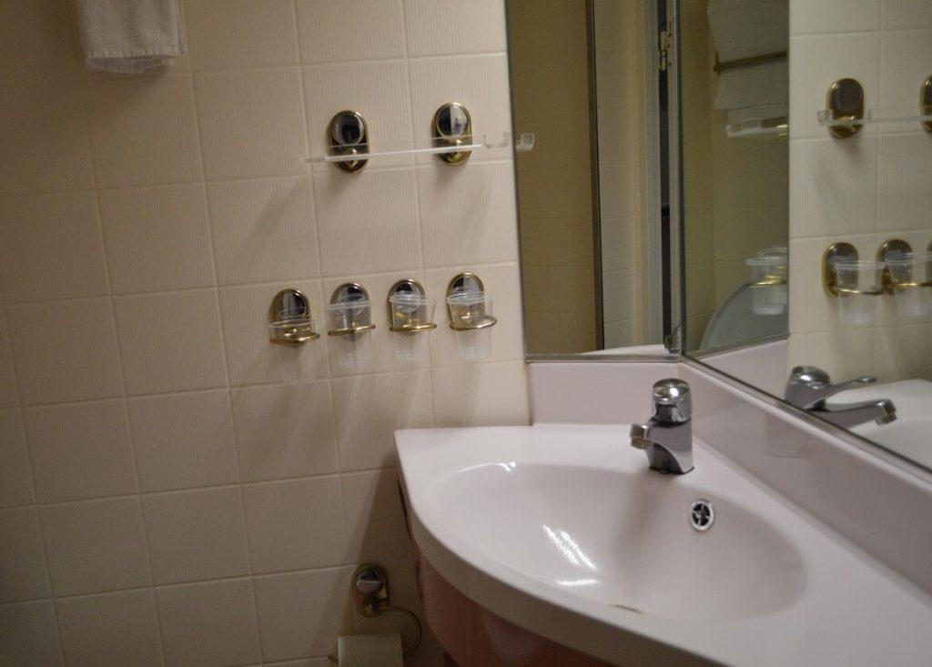 シリアラインのバスルーム