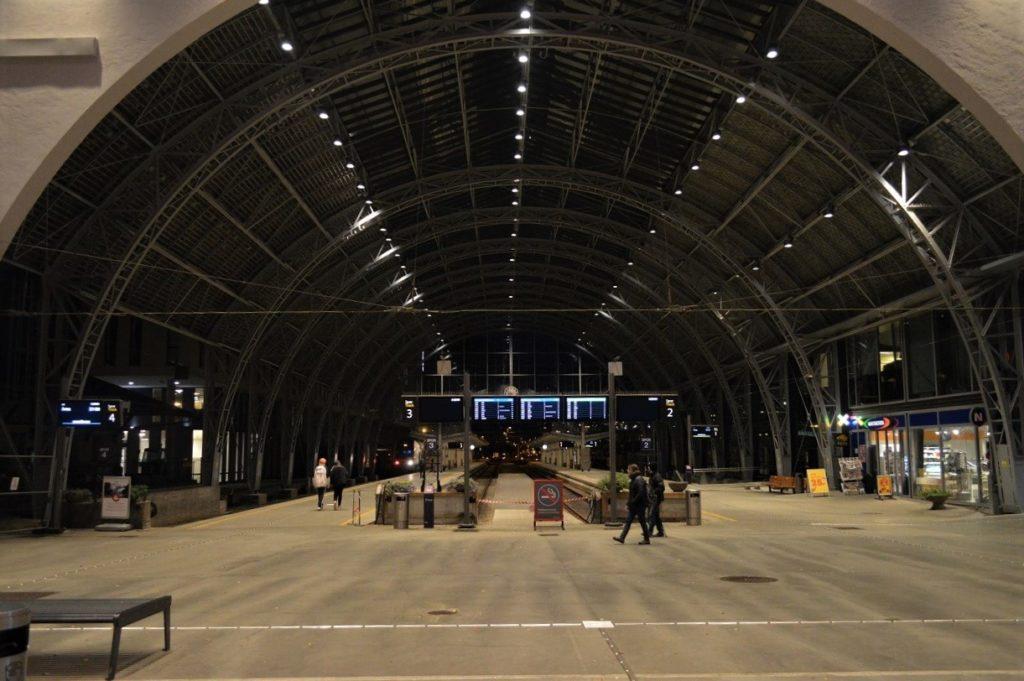 ノルウェーのベルゲン駅