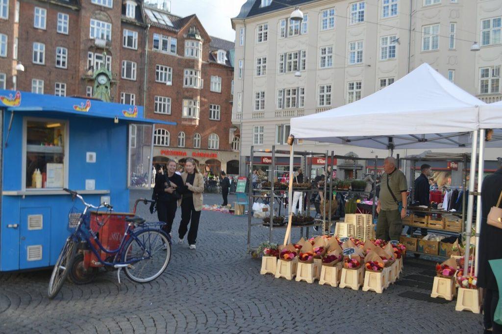 コペンハーゲンのクリスチャンハウンズ広場