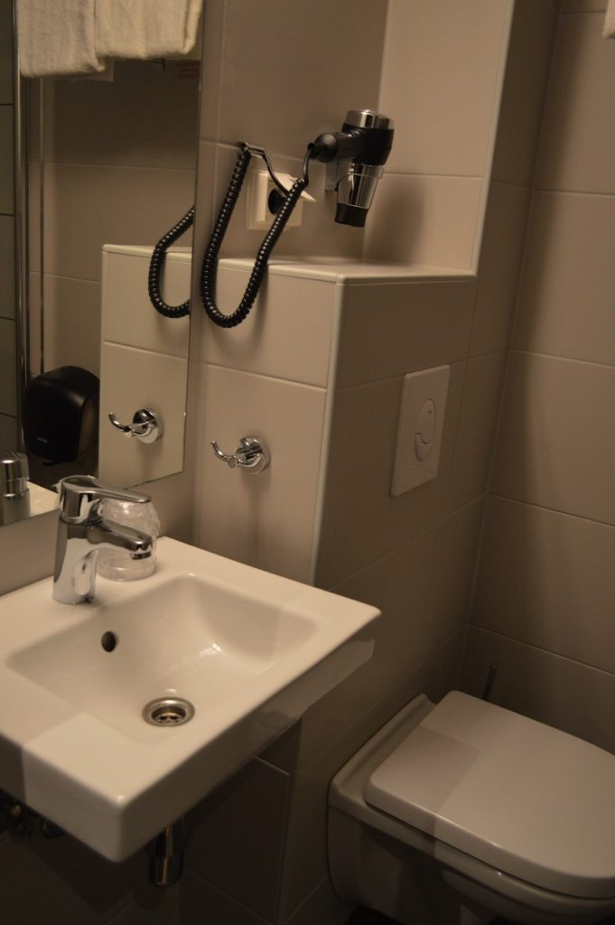 ノルウェー・オスロのCity Box Hotel のバスルーム