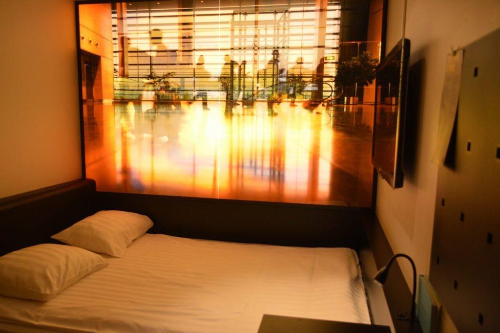 コンフォート ホテル エクスプレス ストックホルム セントラルのベッドルーム