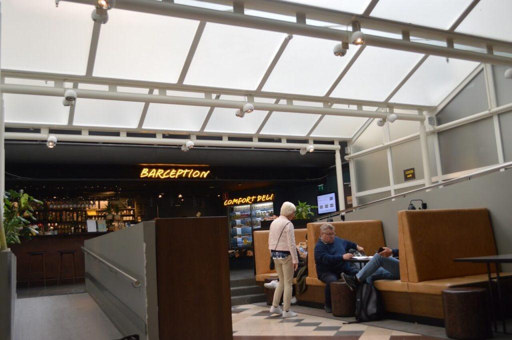 コンフォート ホテル エクスプレス ストックホルム セントラルのレセプション