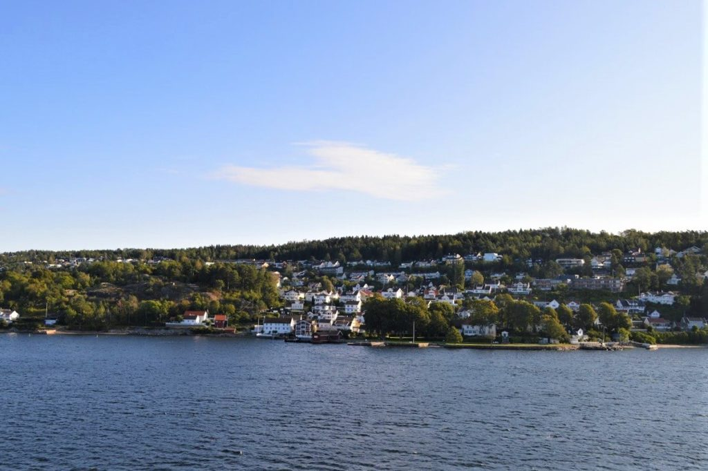DFDSの船上からの景色