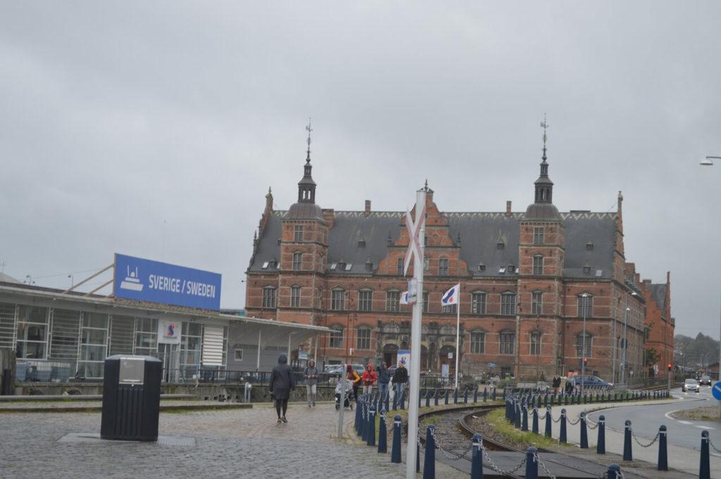 コペンハーゲンとスウェーデン間のフェリー乗り場