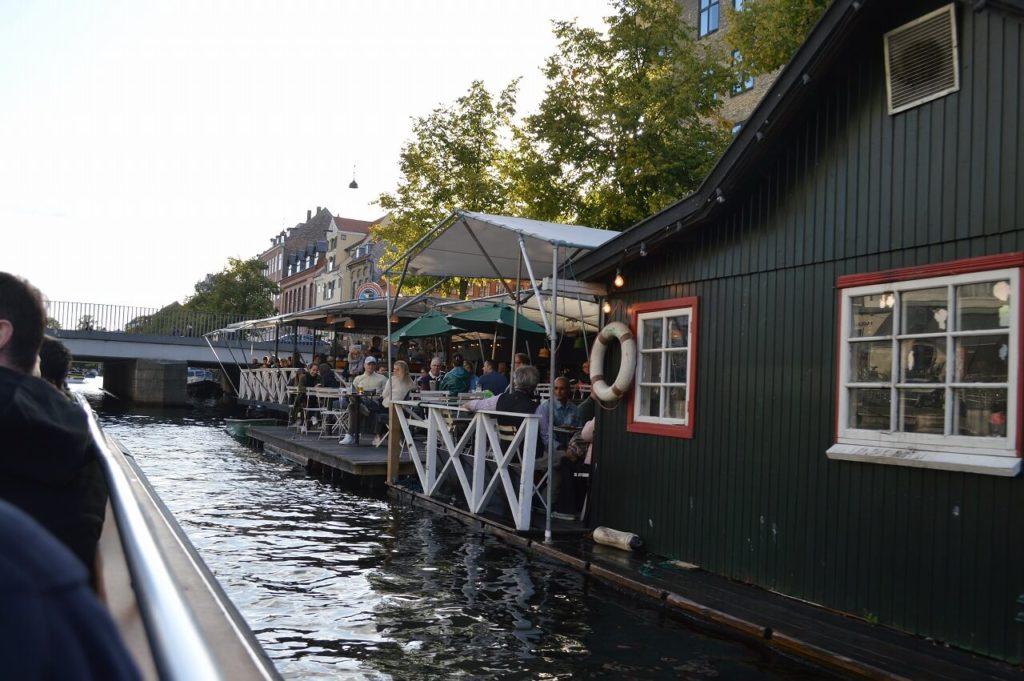 コペンハーゲンの水上レストラン