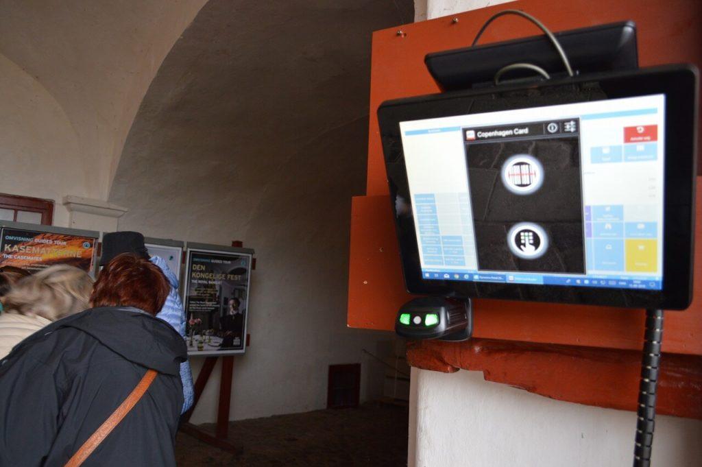 クロンボー城のコペンハーゲンカードシステム