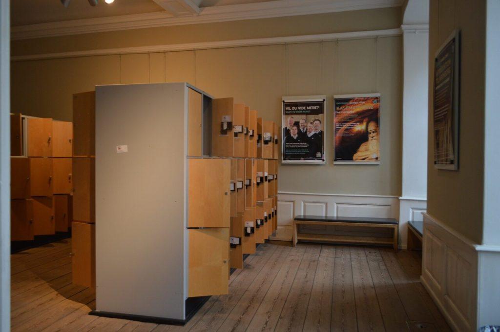 デンマークのクロンボー城のロッカー