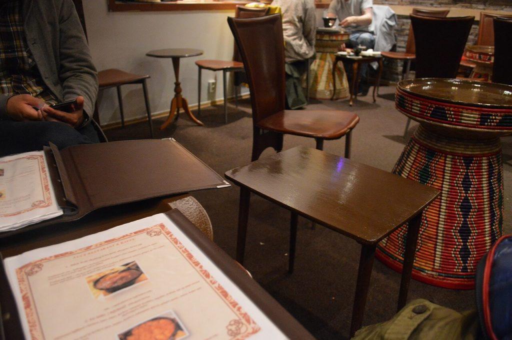 ノルウェーのベルゲンにあるルーシーレストラン