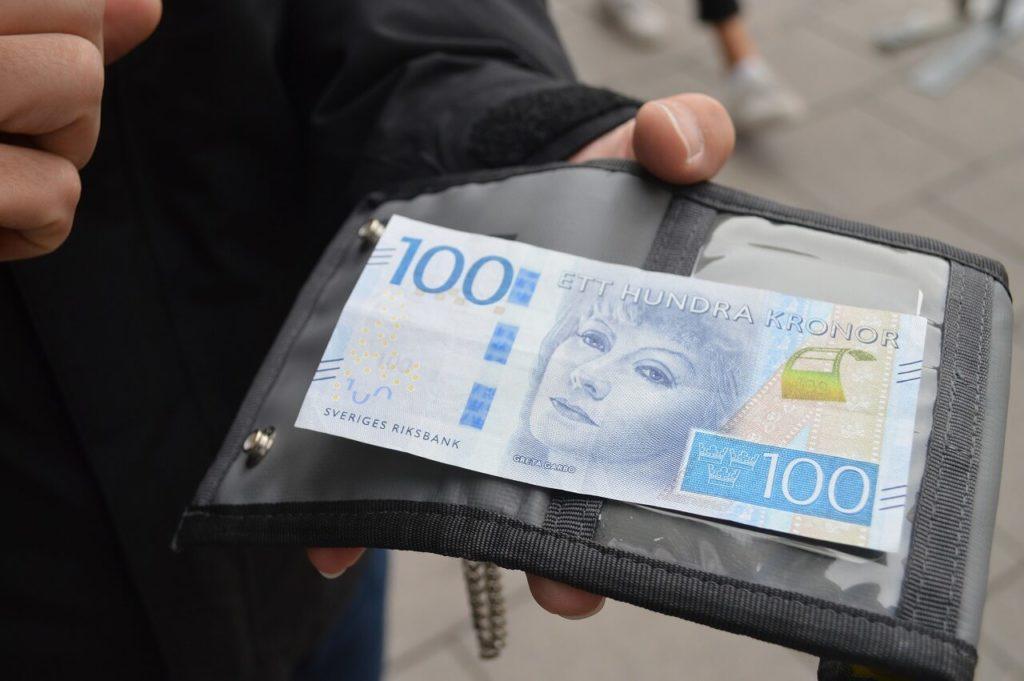 ストックホルムのクローナ紙幣