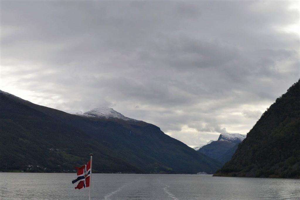 ノルウェーのソグネフィヨルド