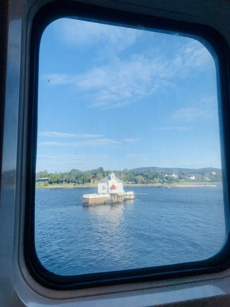 DFDS部屋からの景色
