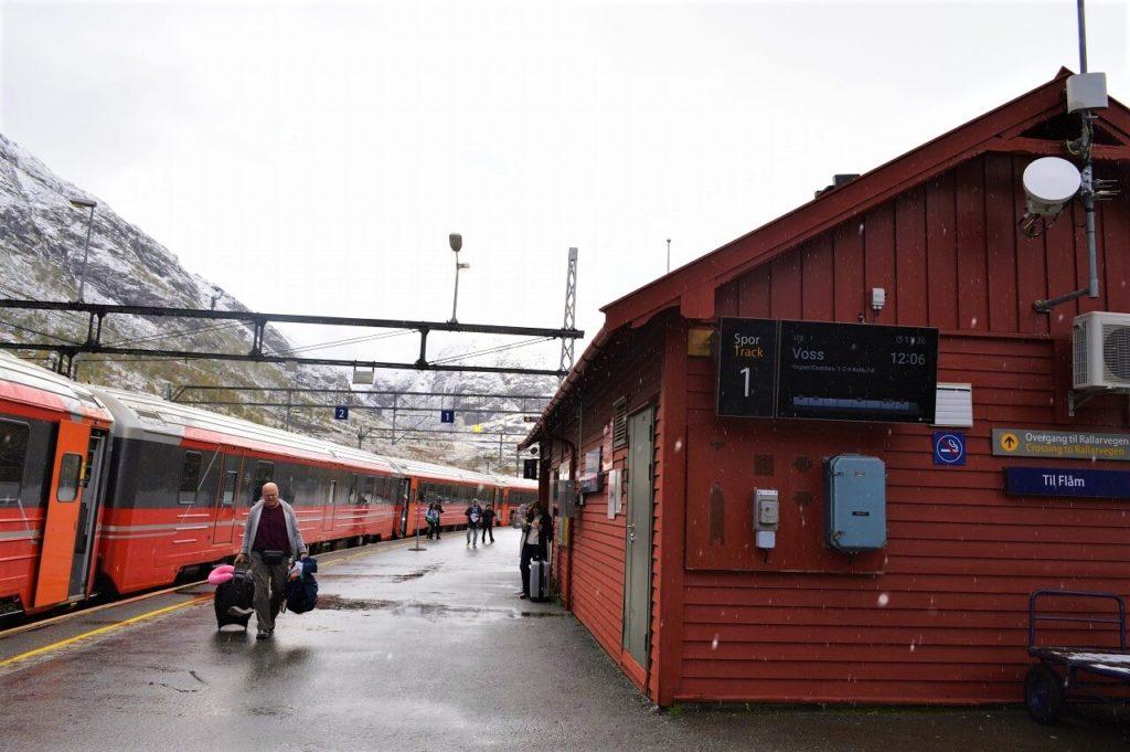 ノルウェーのミュルダル駅