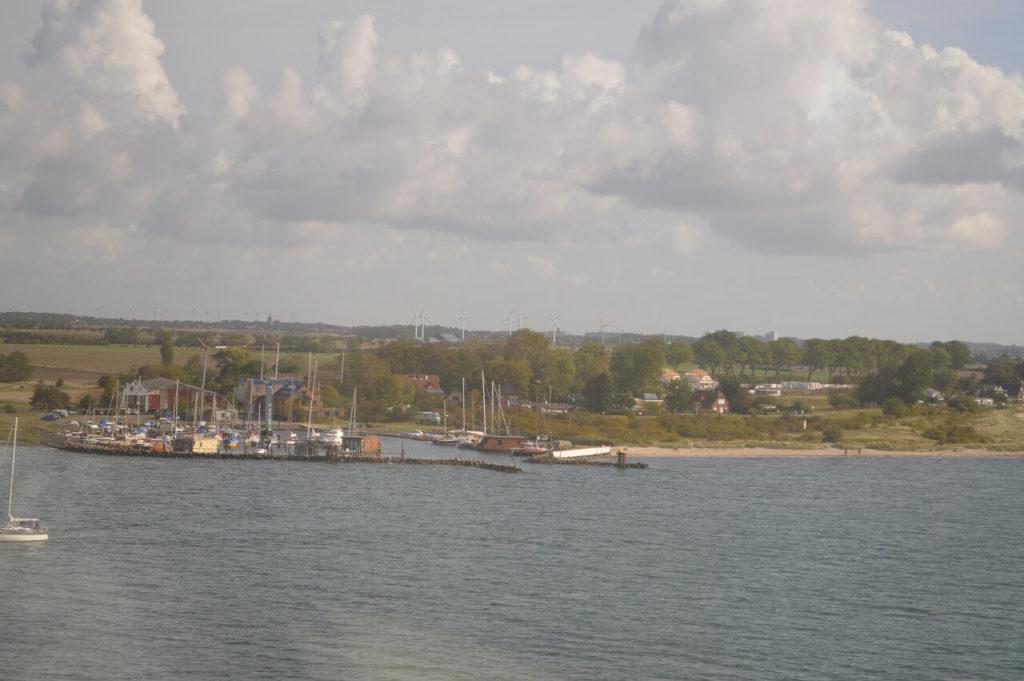 コペンハーゲンへ向かう車窓からの景色