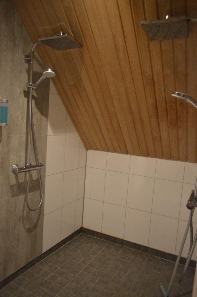 ヘルシンキのイナリのホテル「Wilderness Hotel Inari」にあるサウナ