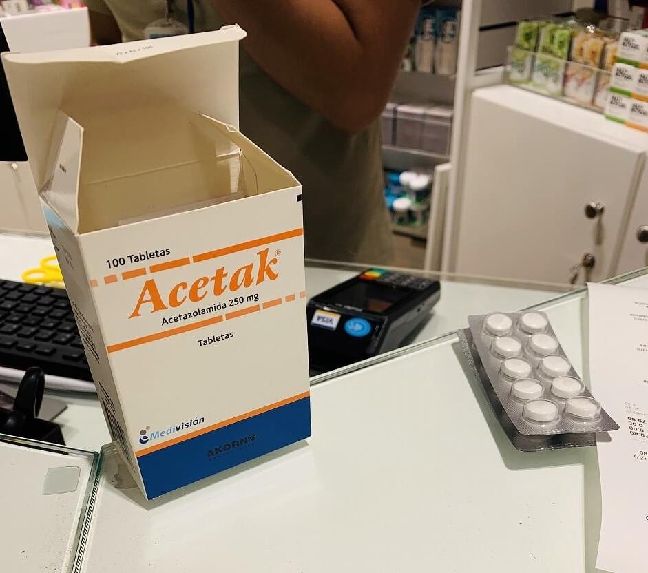 高山病の薬「Acetak」