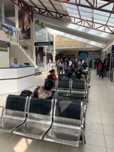 ウユニの空港