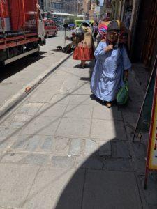 ボリビアのラパス
