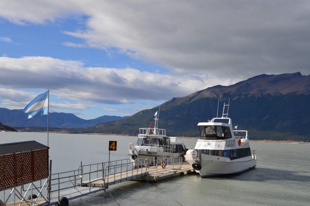 Los Glaciares National Park の船乗り場