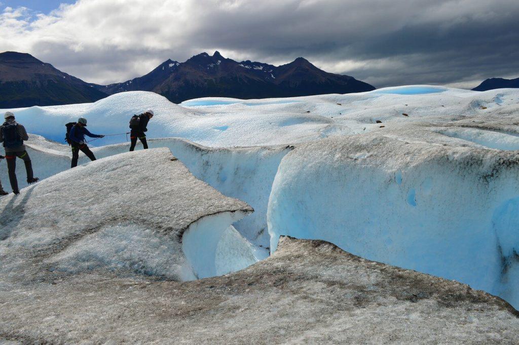 ロス・グラシアレス国立公園のペリトモレノ氷河