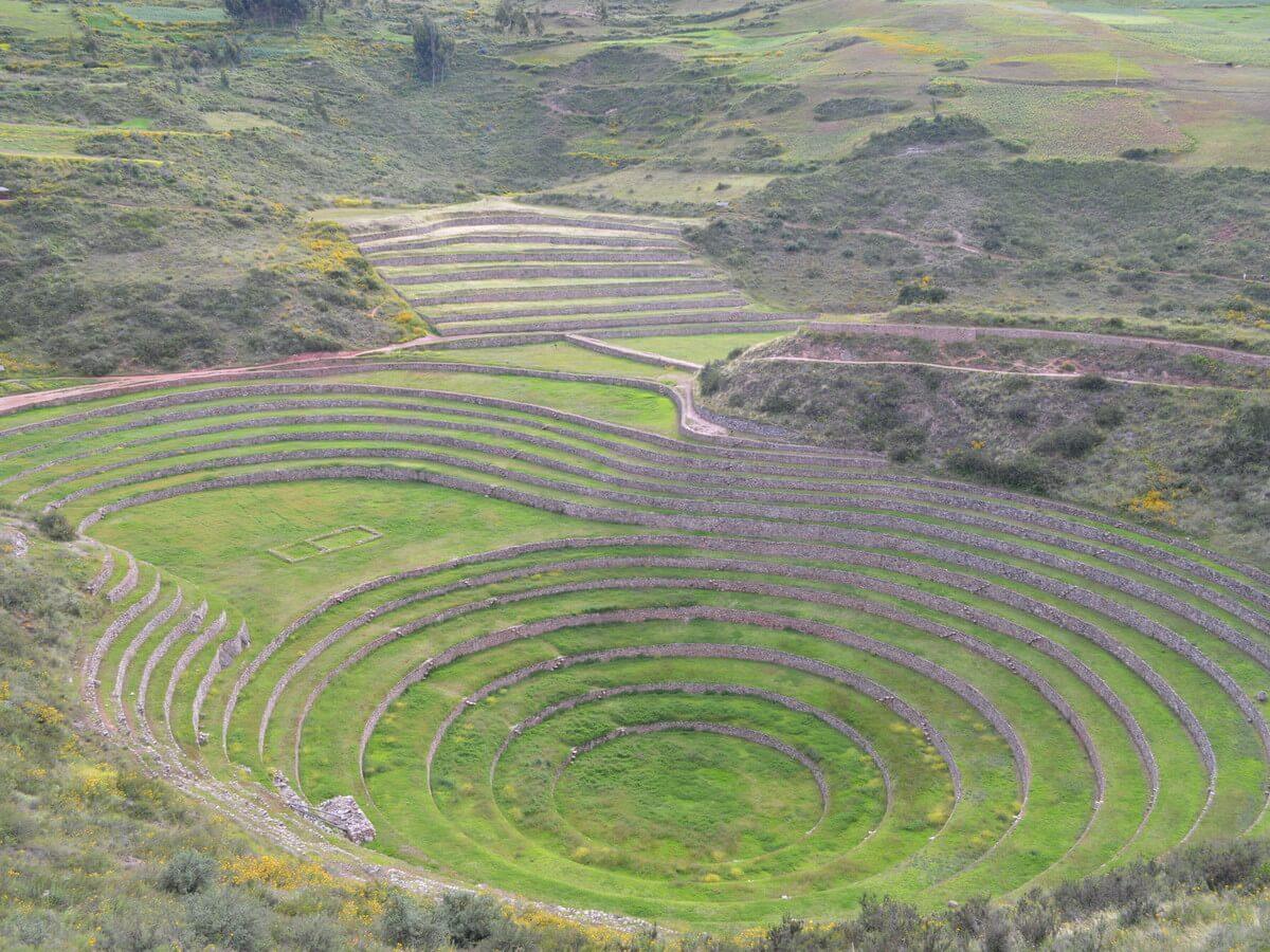 モライ遺跡の巨大なサークル