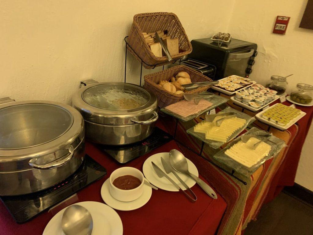 クスコのホテル「ティエラ ビバ クスコ サフィ /Tierra Viva Cusco Saphi」朝ごはん
