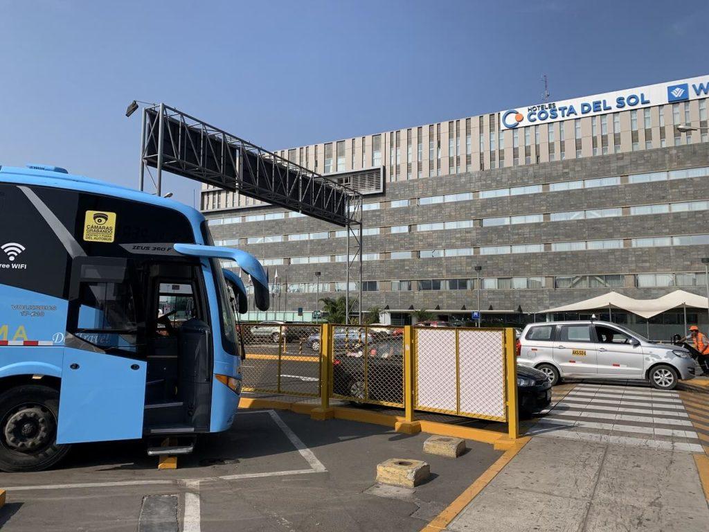 リマのエアポートバス