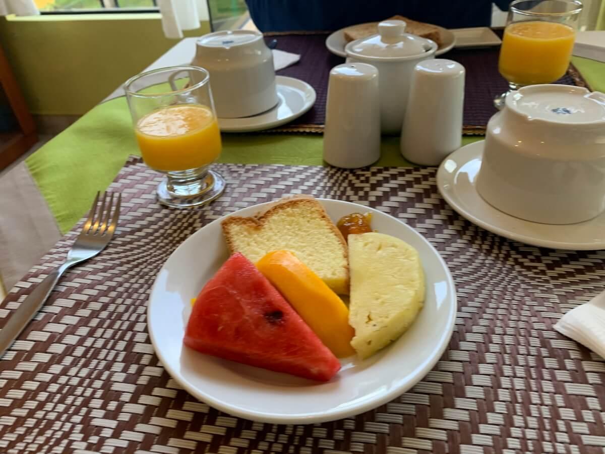 Torre Doradaホテルの朝食