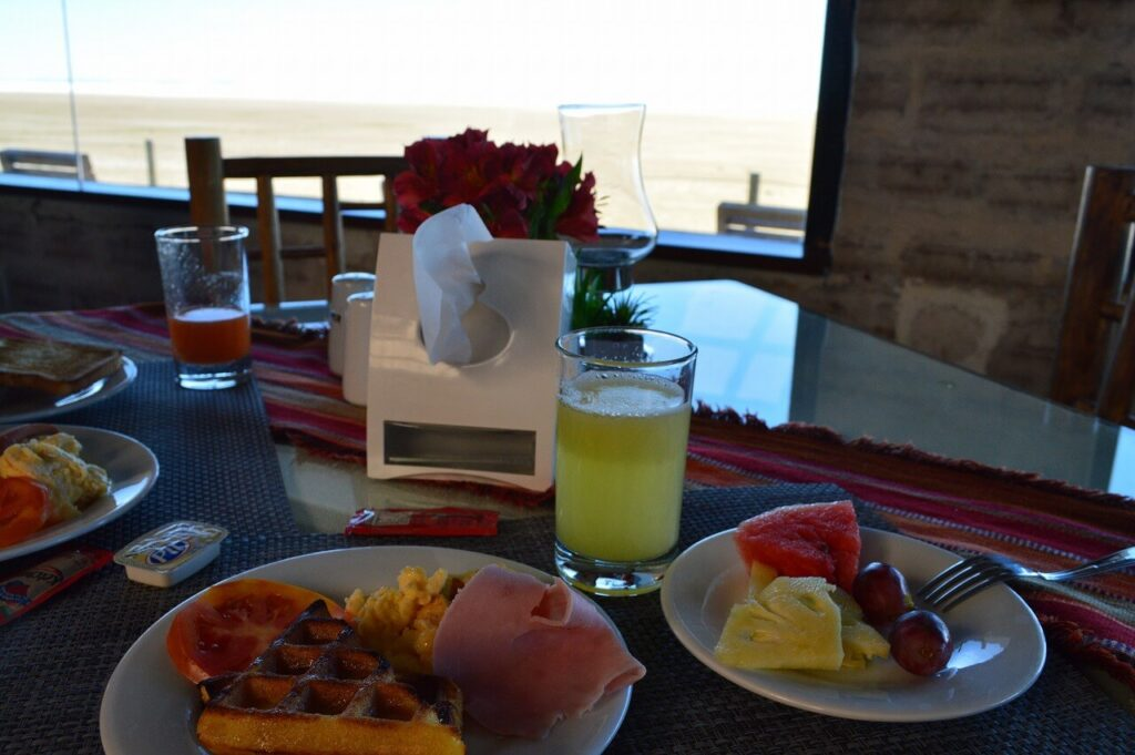 ルナサラダの朝ごはんビュッフェ