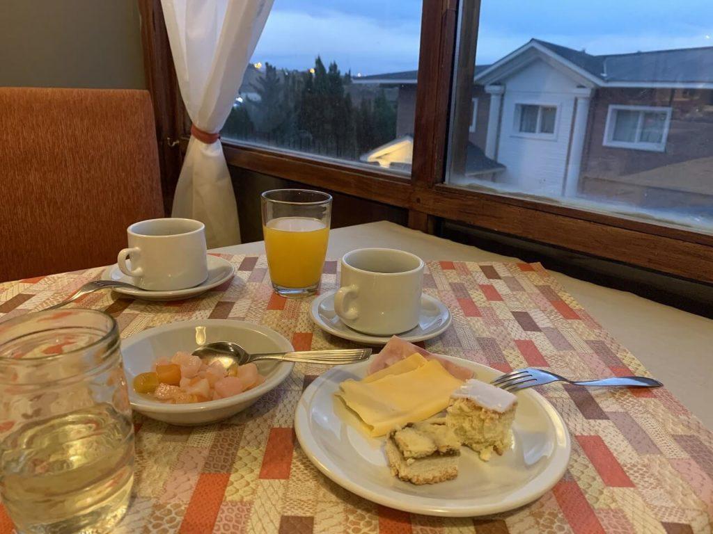 カラファテホテルの朝ご飯