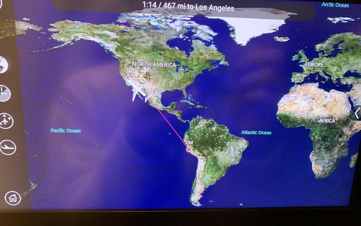 リマからロサンゼルスへ