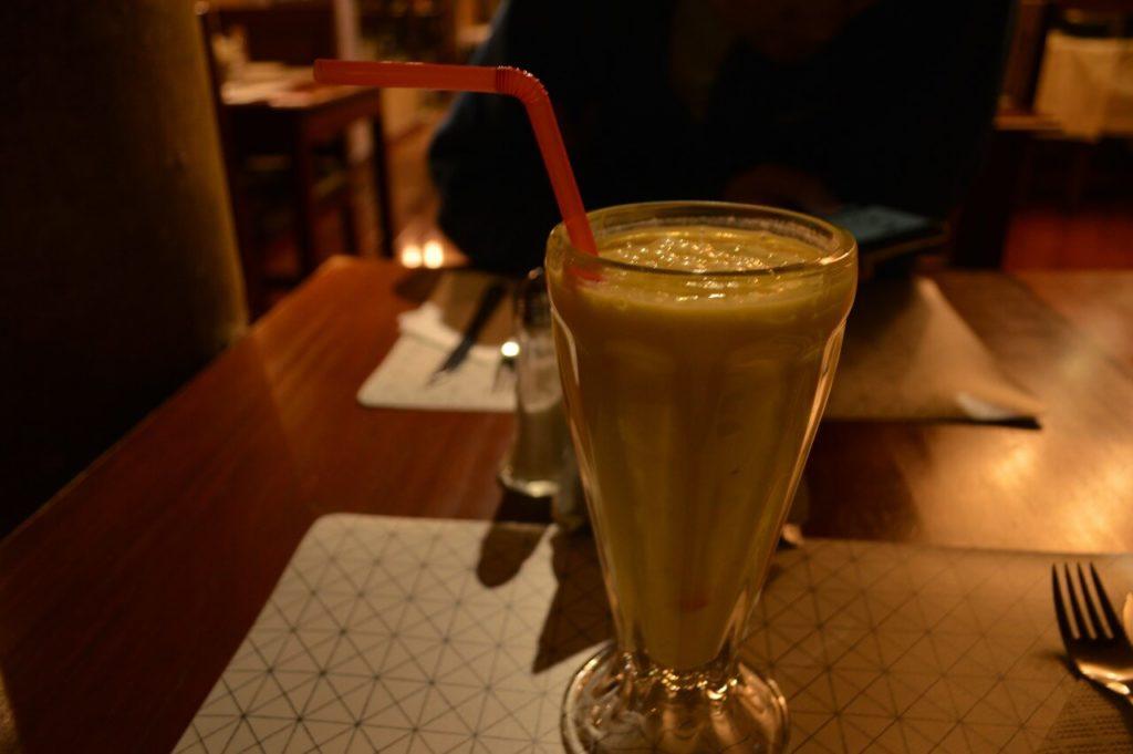 ボリビアのラパスのqantu hotelのレストラン