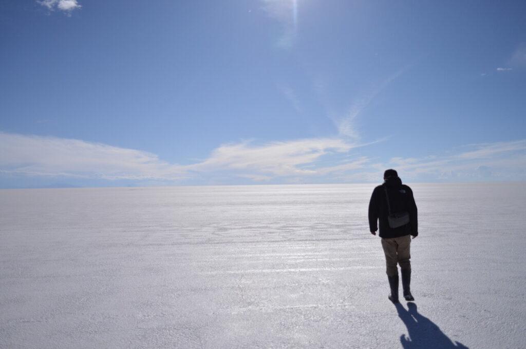 ウユニ塩湖のドライエリア