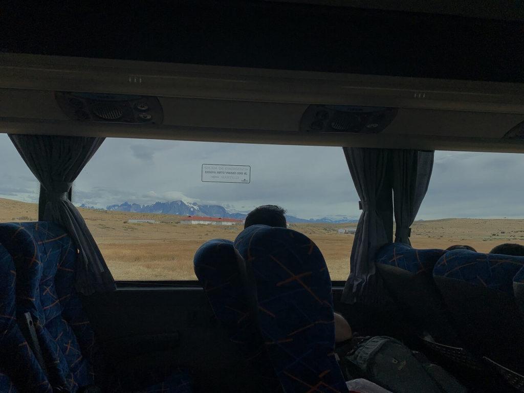 パイネ国立公園への道のり
