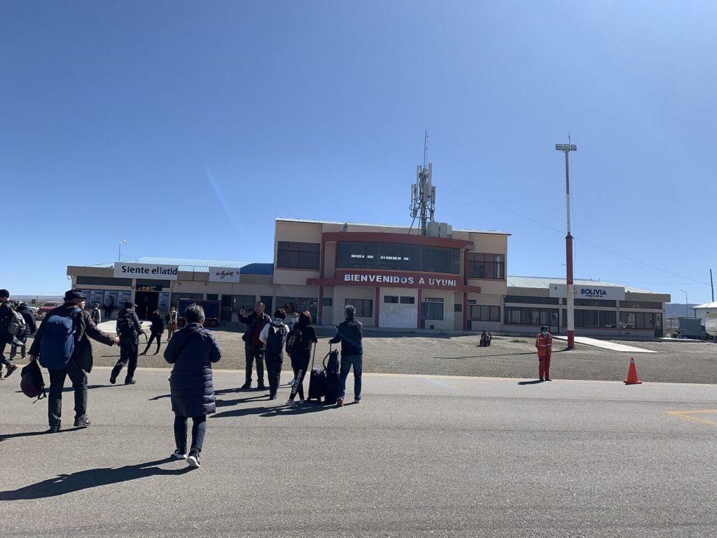 ウユニのインテルナシオナル・ラ・ホヤ・アンディナ空港 Aeropuerto Internacional La Joya Andina