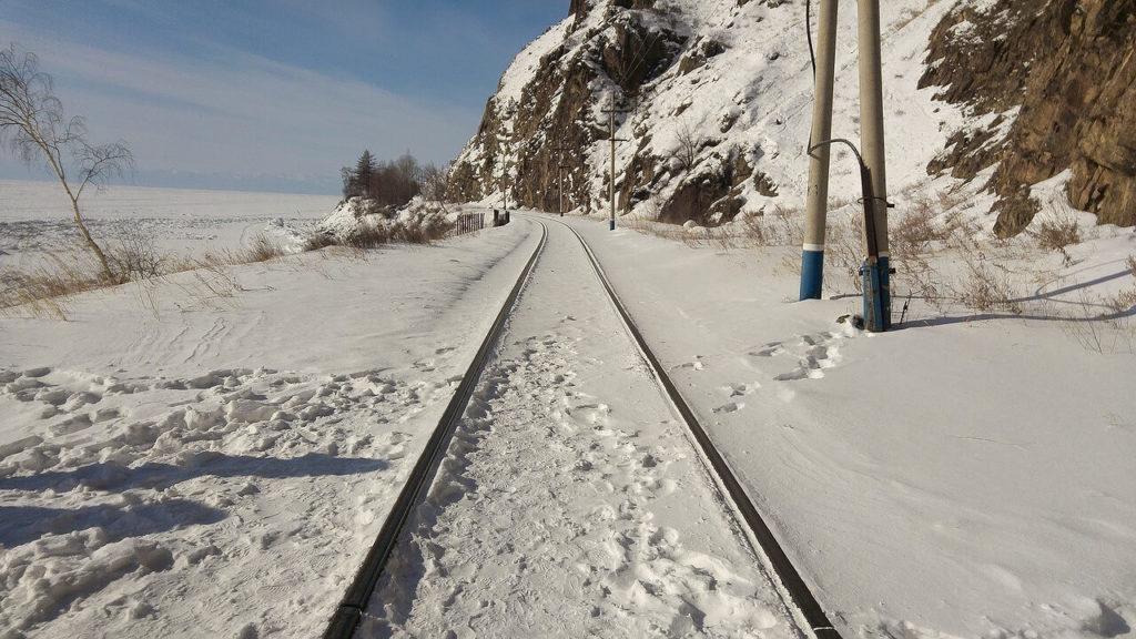 シベリア鉄道の風景
