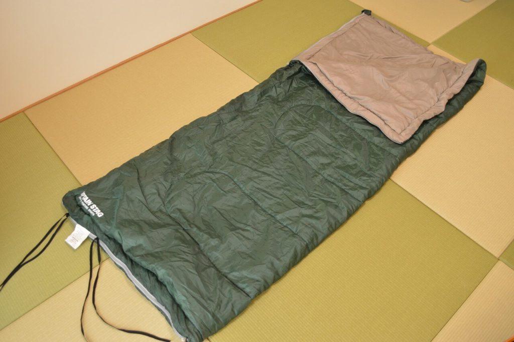 封筒型の寝袋