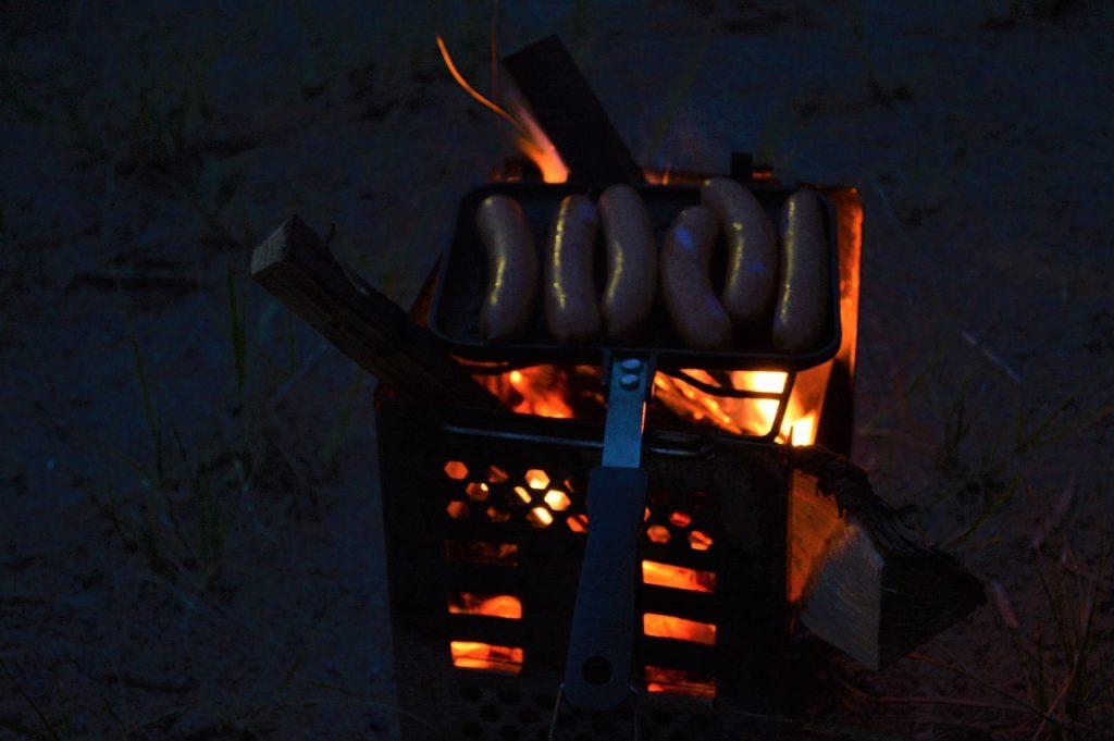 マキノ高原キャンプ場での晩御飯