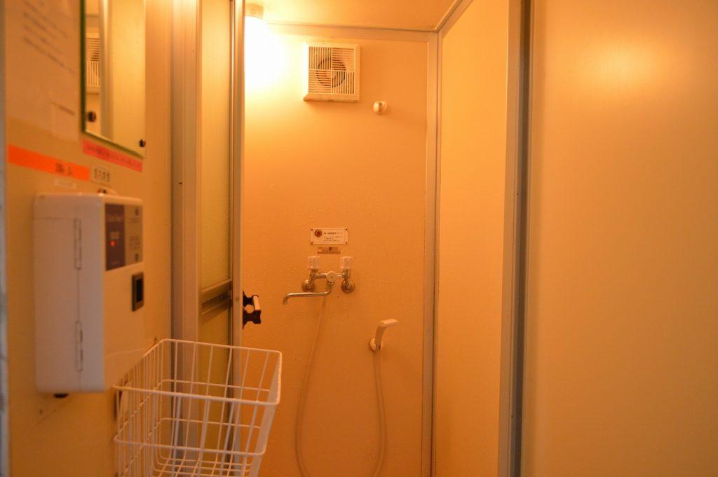 マキノ高原キャンプ場のシャワールーム