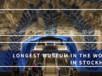 ストックホルムの世界一長い美術館アイキャッチ