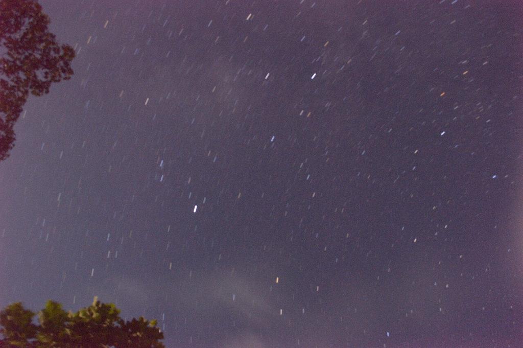神鍋高原キャンプ場神鍋の星空