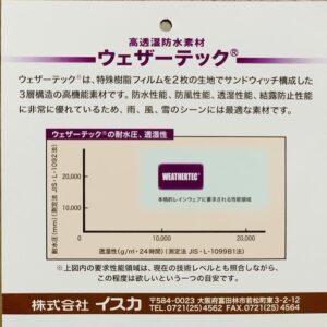 フェザーテック性能グラフ