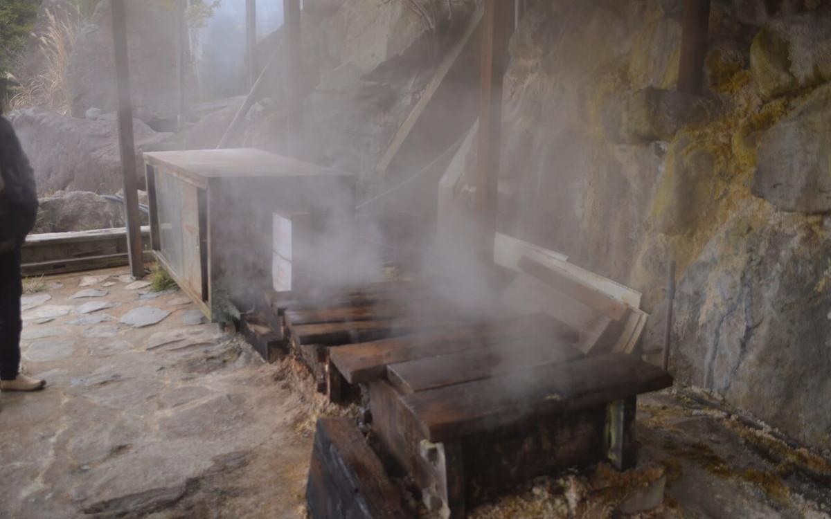 霧島温泉 旅の湯の蒸し窯